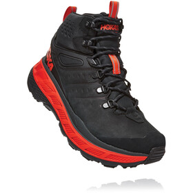 Hoka One One Stinson Gore-Tex Mid-Cut Stiefel Herren anthracite/mandarin red